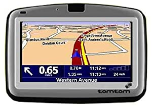Tomtom Go  Gps Satellite Navigation Unit With Pre Loaded Maps Of The Us Canada And Europe