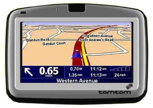 TomTom Go GPS Satellite Navigation Unit With Preloaded Maps - Gps with europe and us maps