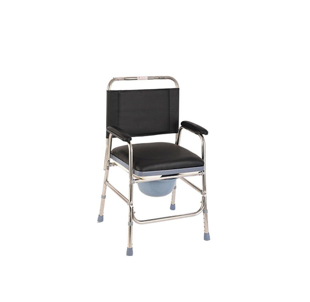 シャワーチェア、取り外し可能な高さ調節可能なバスチェアバスルームステンレス製のシャワーチェア B078PZT88T