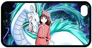 Decent Seller 2001 Japanese animated fantasy film Spirited Away Iphone4/4S TPU Case Cover