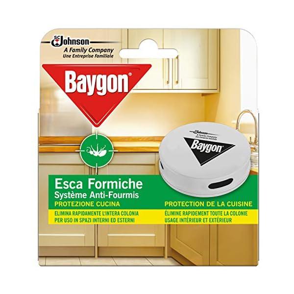 Baygon Esca Insetticida Formiche Pronta all'Uso, Protezione Cucina 30 g - Confezione da 1 Esca per Uso in Spazi Interni… 1 spesavip