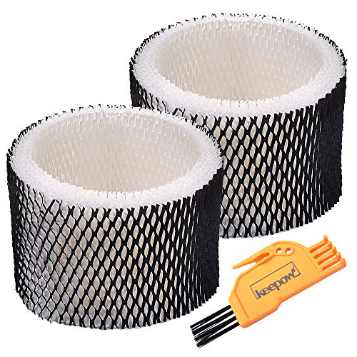 KEEPOW Humidifier Filter Compatible with Holmes HWF62 & HWF62CS, Filter A Pack of 2