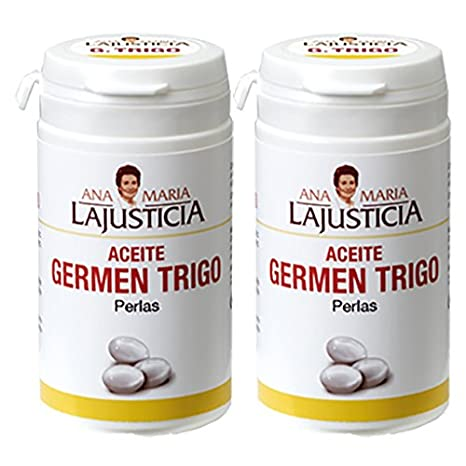 GERMEN DE TRIGO 2 x 90 Perlas Ana María Lajusticia: Amazon.es: Salud y cuidado personal