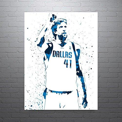 Price comparison product image Dirk Nowitzki Dallas Mavericks Poster