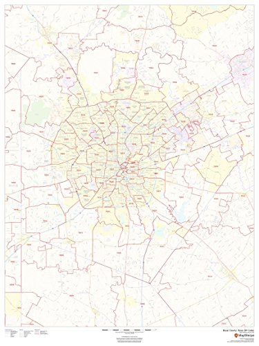 Bexar County, Texas Zip Codes - 36
