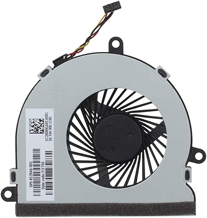 Aoofit Laptop CPU Cooling Fan Replacement for HP 15-af131dx 15-AF013CL 15-af141dx 255 G4 15-AFXXX Series 13946-001 815237-001