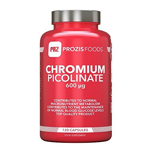 Chrom-Picolinat 600mcg 120 Kapseln