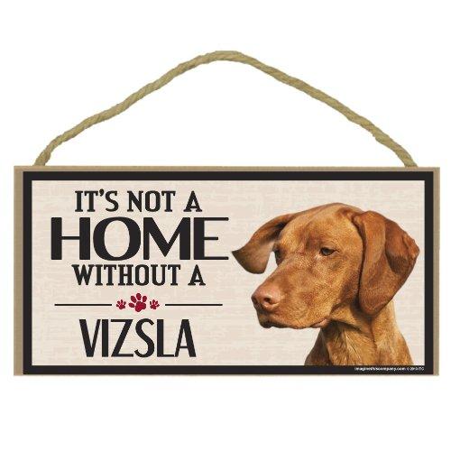 Imagine This Wood Sign for Vizsla Dog Breeds