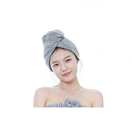 PYXM Dry Hair Towel - Paquete de 3 Toallas de Microfibra para ...