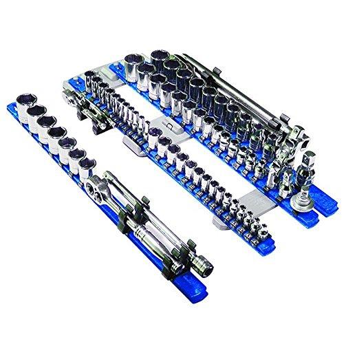 APT/ Ernst 8470 RD + 8471 BL TWIST LOCK Socket Organizer Red / Blue Systems by APT/Ernst (Image #2)