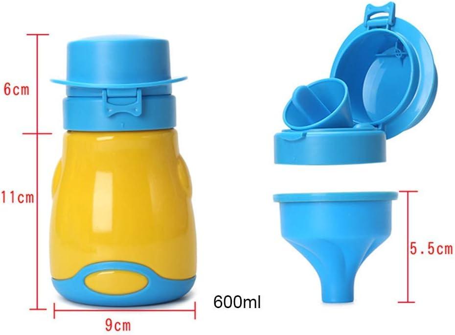 Urinal Jungen Baby-Toilette Reisen Kind FireAngels Kinder-Notfall-Toilette T/öpfchen 600 ml Auto-Urinal M/ädchen auslaufsicher f/ür Kinder tragbar Kinder-Urinaltraining
