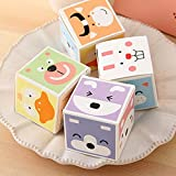 LUQUAN 5 Pcs/Lot Stationery Box Cartoon Animal Small Memo Pad