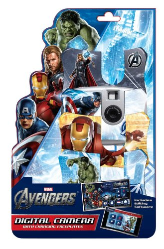 Avengers Digital Camera with 3 Face Plates ()