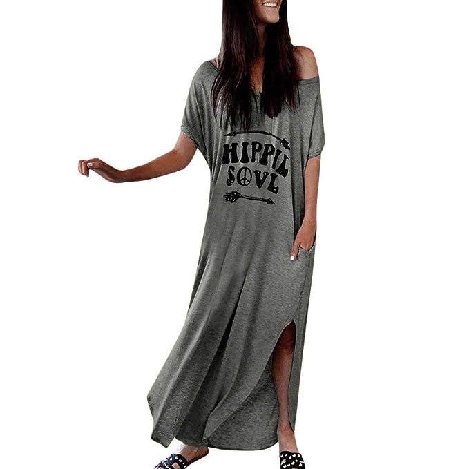 Fannyfuny Ropa Mujer Vestido Elegante Casual Dress Tirantes ...
