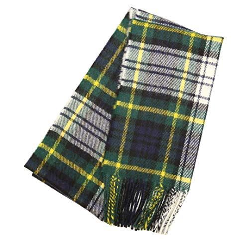 Highlander Lambswool Tartan Scarf - Gordon Dress Modern