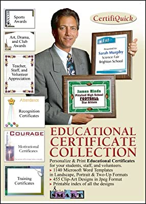 ScrapSMART - CertifiQuick - Educational Certificate - Software Collection - Jpeg & Microsoft Word files for Mac [Download]