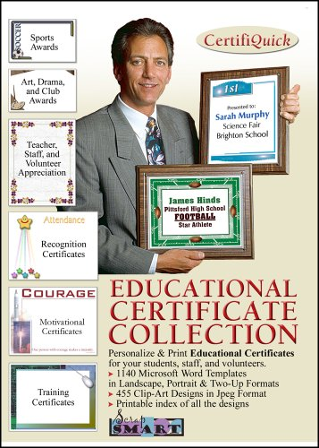 ScrapSMART - CertifiQuick - Educational Certificate - Software Collection - Jpeg & Microsoft Word files (Halloween Crafts 1st Grade)