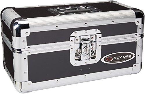 Odyssey K45120BLK Krom Utility/Record Case, Black