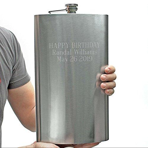 Sasquatch 128oz Extremely Large Flask (Engravable) (Customizable (Engravable Flask)