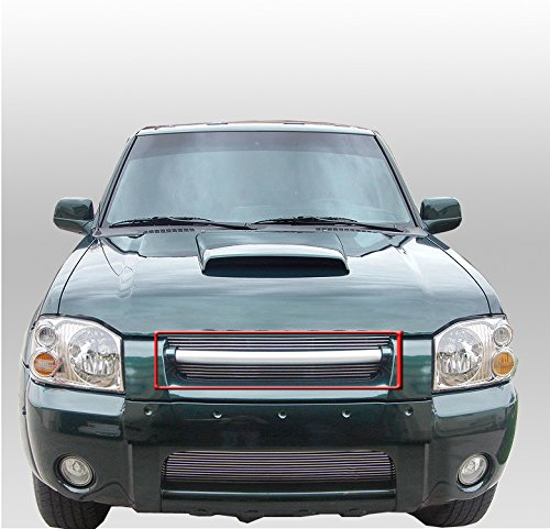 ZMAUTOPARTS Front Main Upper Billet Grille Grill For Frontier Pickup Replacement