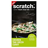 Scratch Chicken Thai Green Curry Meal Kit (965g) - Pack of 6