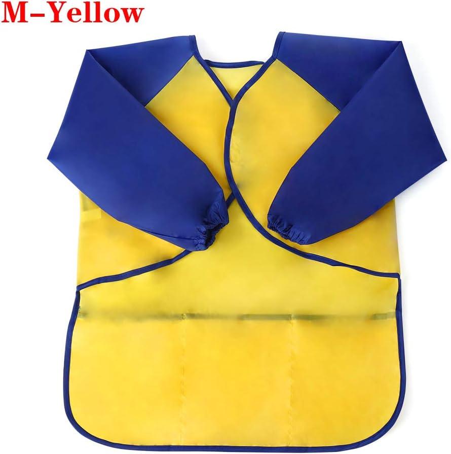 f/ür Kinder M-Yellow wasserfest maylace Kinder Malsch/ürze Baby Backen Malsch/ürze Basteln