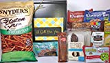 Gluten Free Dairy Free Prime Gift Box Basket - Yummy Treats & Almost 2.5 Pounds - For Birthday, College, Military, Care Package, Thinking of You, Get Well, Christmas, Mother's Day, Father's Day, More!