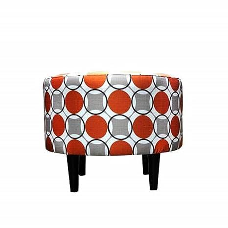 Amazon.com: Suela Designs Sophia Colección abstracto Ottoman ...