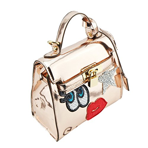 Handbags Womens Totes Bag Latch Clutch Casual Gold Shoulder Hobos FTSUCQ Messenger 64f6q