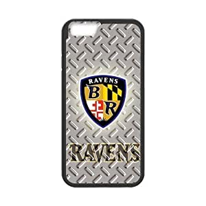 iPhone6 NFL Baltimore Ravens Fan Sport Logo Case Cover for iPhone6 4.7 (Laser Technology)