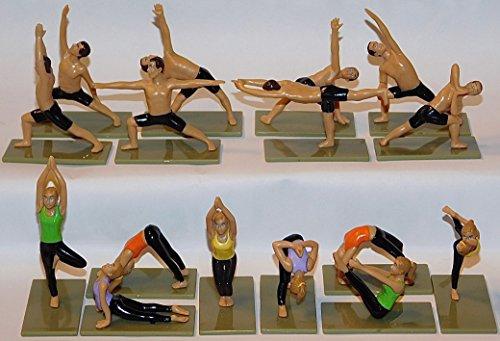 Yoga Figures 3D Yogis and Yoginis -
