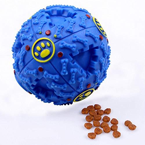 Squeaky Golden Retriever Pitbull Puppy Dog Toy Ball Puzzle Training Mascotas Juguetes Para Perros Para Perros Grandes…