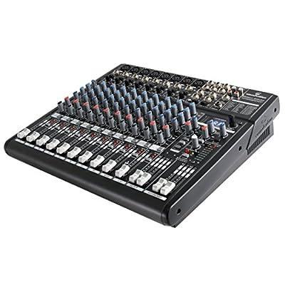 NEOMIX 802 UFX – Mixer compatto a 10 canali di alta qualità con noisless preamp, processore effetti 24-bit, scheda audio USB I/O