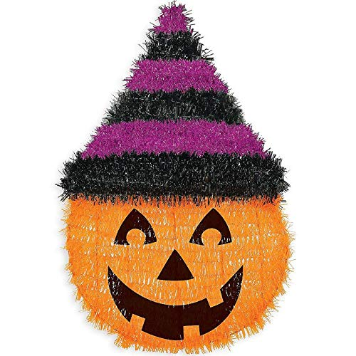 Halloween Party Halloween Party Decorations Tinsel Witch Hat Pumpkin (3X Pack)