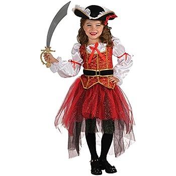 Rubieu0027s Letu0027s Pretend Princess Of The Seas Costume - Small (4-6)  sc 1 st  Amazon.com & Amazon.com: Disney Fairies Pixie Zarina Pirate Dress: Toys u0026 Games