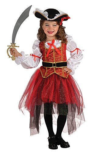 [Rubie's Let's Pretend Princess Of The Seas Costume - Small (4-6)] (Cool Halloween Costumes For Three Girls)