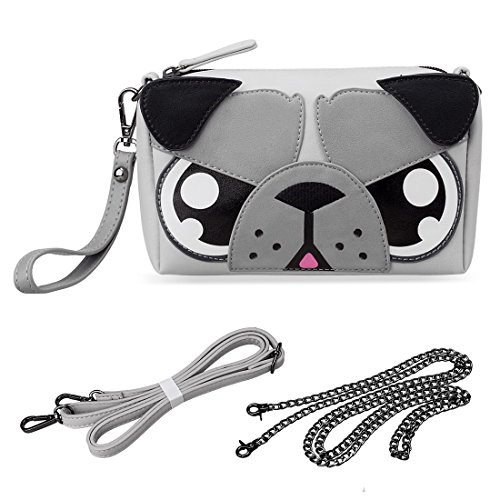 BMC Cute Animal Dog Puppy Face Purse for Girls Teens, used for sale  Delivered anywhere in USA