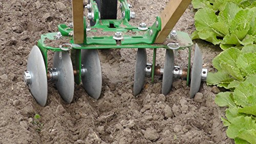 Hoss Tools Disk Harrow Attachment (Wolf Garten Cultivator)
