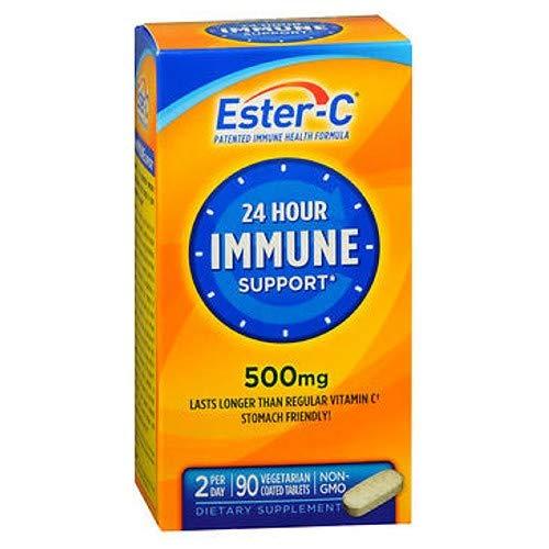 Ester-C 500 mg Coated Tablets 90 Tablets (Pack of 9)