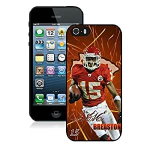 NFL Kansas City Chiefs Steve Breaston iphone 5 5S Casecell phone cases&Gift Holiday&Christmas Gifts NFIU8714546