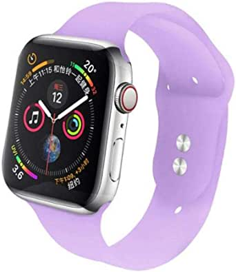 for Apple watch band Jelly Purple color for 38, 40 size.