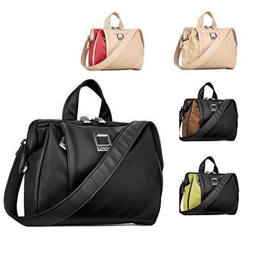 Women's Crossbody Shoulder Bag Fits Nikon SLR DSLR Cameras / Zoom Lens Accessory Pack Gadget Bag