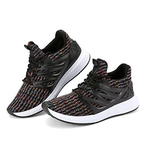 Leicht Schuhe Herren Outdoor 44 Sneaker Sport Laufschuhe Turnschuhe Bequem Fitness Männer Grau Freizeitschuhe Gracosy qzTgvwAxA