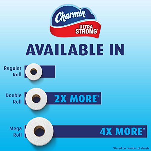 Charmin Ultra Strong Toilet Paper Bath Tissue Mega Roll