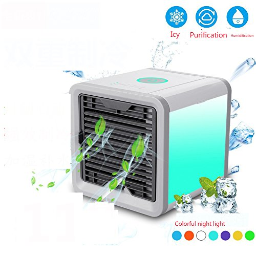 SL&LFJ Mobile air conditioner cooling fan,Single cooler small air cooler mini air mini portable conditioner dormitory artifact cooling unit -A by SL&LFJ