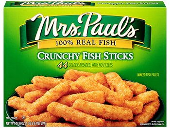 MRS PAULS SEAFOOD CRUNCHY FISH STICKS 24.6 OZ PACK OF 2: Amazon.com:  Grocery & Gourmet Food