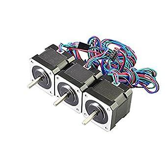 ueetek 45 NCM NEMA 17 Stepper Motor 2 A cable 1 m 4 hilos para DIY ...