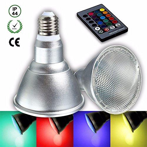 RGB Led Bulb Multicolors 20 COlors 3w - 3