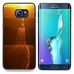 Stuss Case / Funda Carcasa protectora - Camino del Oro Libertad Abrir carretera - Samsung Galaxy S6 Edge Plus / S6 Edge+ G928
