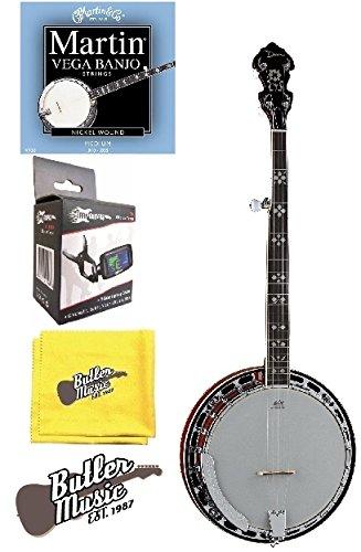 dean 5 string banjo - 6